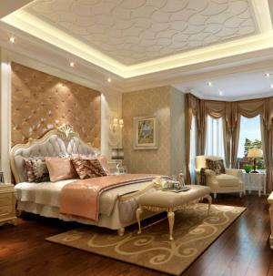 美式裝修風格臥室設計欣賞