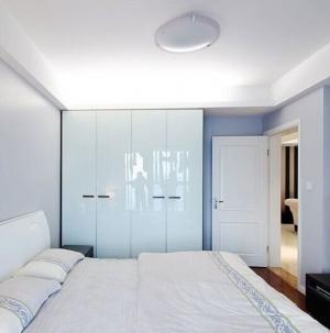 现代风格卧室衣柜效果图