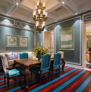 120平现代欧式别墅餐厅设计
