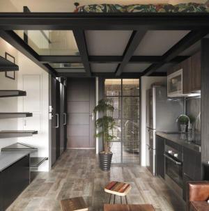 92平清新现代风室内设计