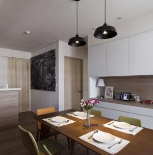 混搭風格家裝設計餐廳圖片