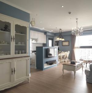 小戶型現代公寓客廳裝飾效果圖