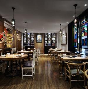 羊城記憶餐廳裝修設計三
