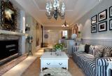 田园装修风格明亮客厅设计