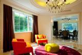欧式风格简奢小别墅室内设计
