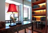 線條簡潔不落俗套的書房設計