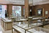 大厅展柜 帝爵珠宝店装修实景案例图
