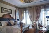 92平美式古典风格卧室装饰设计