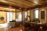 泰式风格餐厅餐厅客厅隔断设计