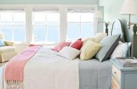 清凉的海边度假小屋室内装修效果图