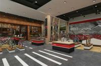 单车咖啡厅装修效果图