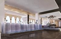 上岛咖啡厅长虹桥店室内工装案例