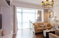 76平方经典美式二居室效果图赏析