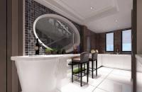 黑白簡約復式家居室內裝修案例欣賞