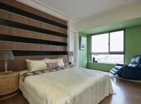 混搭三居臥室背景墻裝修風格
