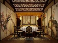 古典會所餐廳包廂圖片欣賞