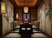中式古典會所包廂設計欣賞