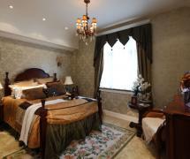 180平米新古典风格复式卧室吊顶图片