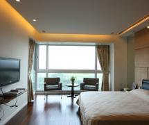 108平米现代风格卧室装修效果图