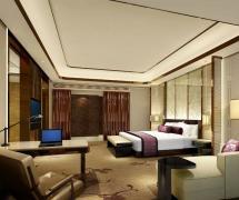 深圳京基瑞吉酒店套房卧室图片