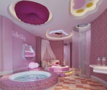 时尚温馨酒店套房设计