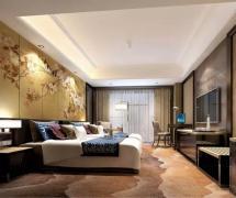 深圳波尔多大酒店双人房设计效果图