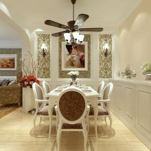 95平米欧式时尚风格室内装修设计