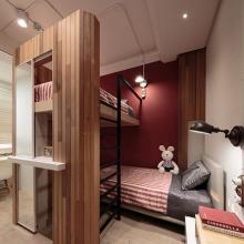 精致现代风格三居室设计效果图