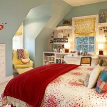 阁楼卧室效果图大全欣赏