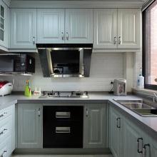 78平米美式混搭两居室装修效果图