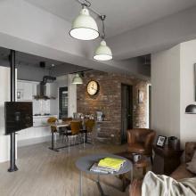 83平方工业风两居室 创造魔术般的生活