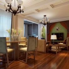 东南亚简约三居室装修效果图大全