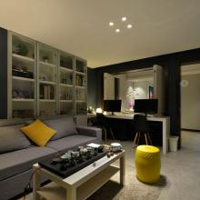 90平米舒适现代家庭装修效果图