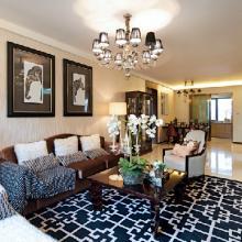 86平米现代时尚二居室装修效果图赏析