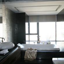 鹭岛国际时尚现代三居室设计
