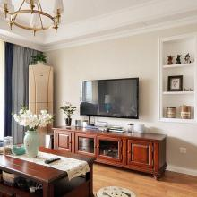 100平米舒適美式風格室內裝修效果圖
