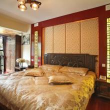 青城阳光中式风格复式楼设计案例