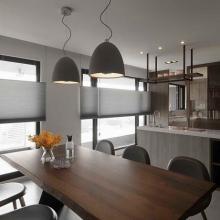 现代舒适三居室效果图案例