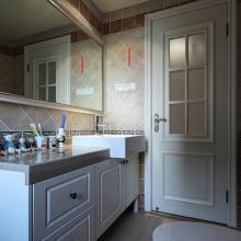 109平米美式风格家庭装修设计图赏析