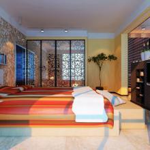 现代简约风格三居室装修效果图欣赏