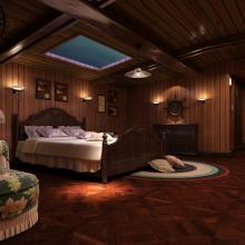 600平米古典混搭别墅装修效果图