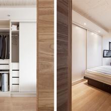 簡約木質公寓 明亮陽光感受