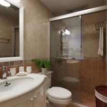 99平三居室美式风格装修设计图