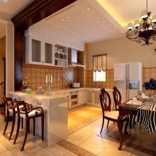 美式大氣別墅室內裝修設計