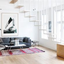 63平米实用现代风格公寓装修效果图