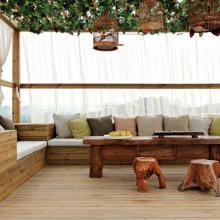 265平米中式别墅室内装修效果图