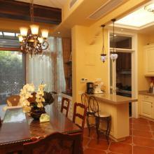 180平米大气美式风格复式家居装修效果图