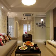 90平米现代时尚两居室装修设计