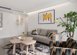 清新宜家三居室裝修美圖分享