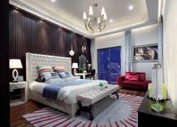 181平四室二厅欧式风格装修效果图案例